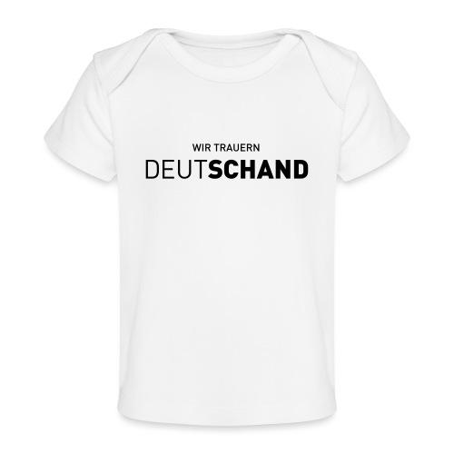 WIR TRAUERN Deutschand - Baby Bio-T-Shirt