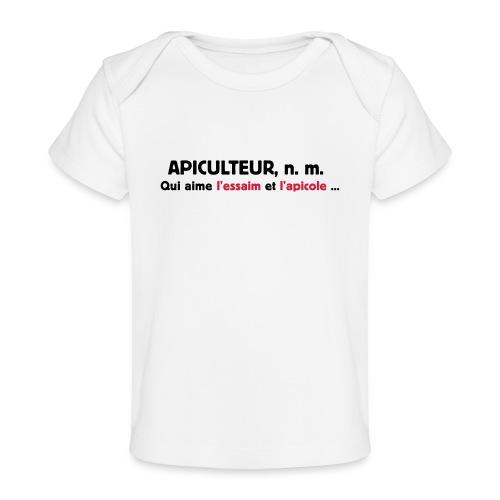 essaim - T-shirt bio Bébé