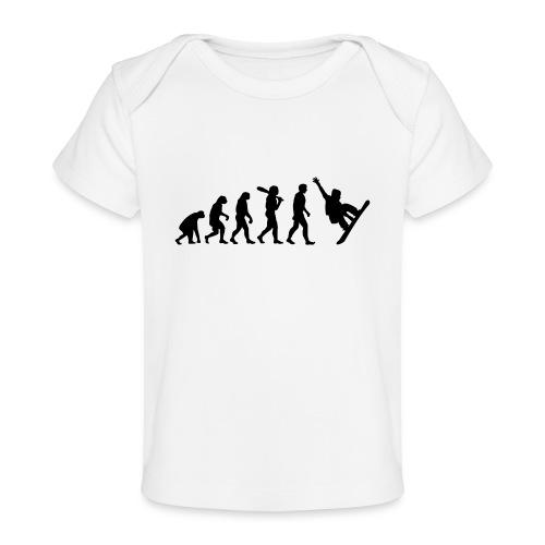 Evolution Snowboard - Baby Bio-T-Shirt