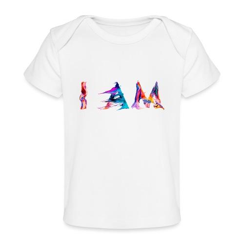 I AM - T-shirt bio Bébé