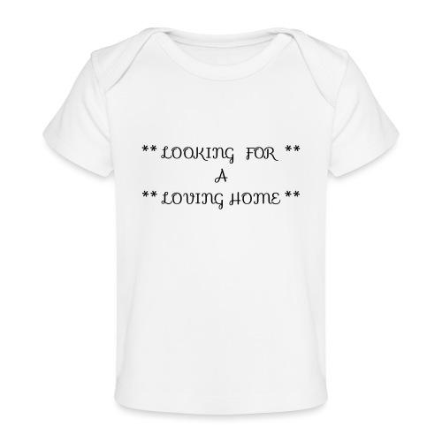 Loving home - Vauvojen luomu-t-paita