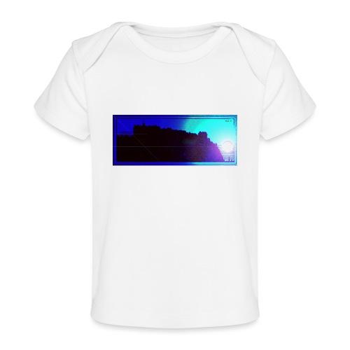 Silhouette of Edinburgh Castle - Organic Baby T-Shirt