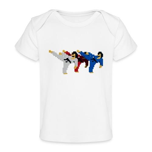 8 bit trip ninjas 2 - Organic Baby T-Shirt