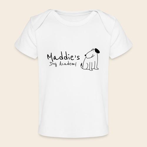 Académie des chiens de Maddie (noir) - T-shirt bio Bébé