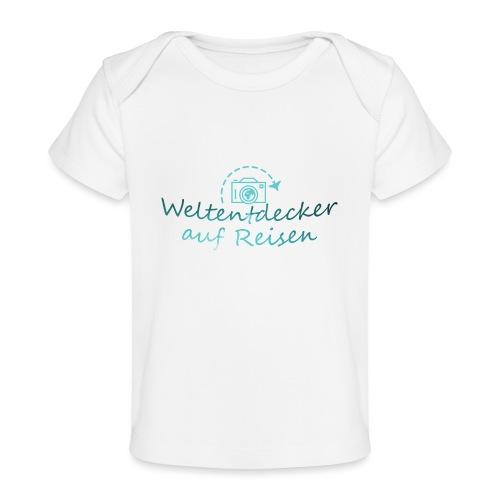 Weltentdecker auf Reisen - Baby Bio-T-Shirt