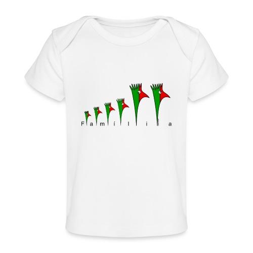 Galoloco - « Família » - T-shirt bio Bébé