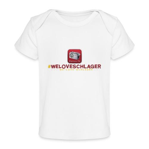 WeLoveSchlager de - Baby Bio-T-Shirt