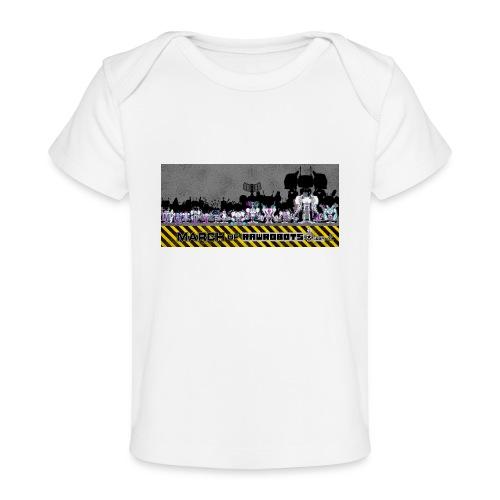 #MarchOfRobots ! LineUp Nr 2 - Økologisk T-shirt til baby