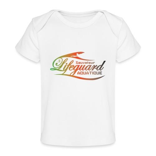 lifeguard multicolor - T-shirt bio Bébé