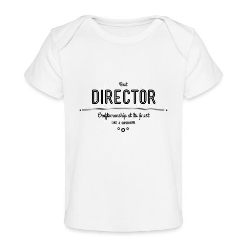 Bester Direktor - Handwerkskunst vom Feinsten, wie - Baby Bio-T-Shirt