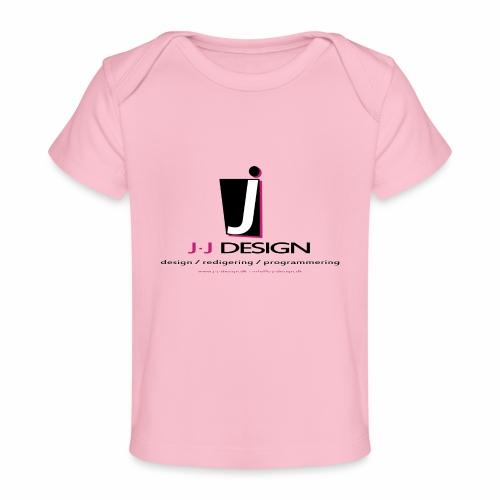 LOGO_J-J_DESIGN_FULL_for_ - Økologisk T-shirt til baby