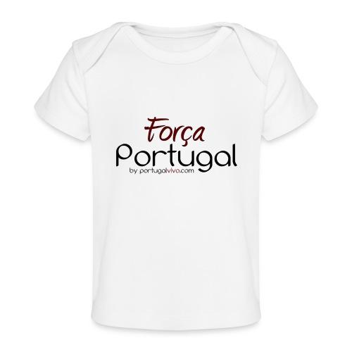 Força Portugal - T-shirt bio Bébé