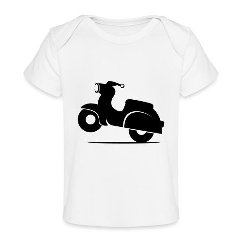 Schwalbe knautschig - Baby Bio-T-Shirt