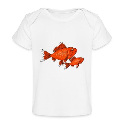 Poissons rouges - T-shirt bio Bébé