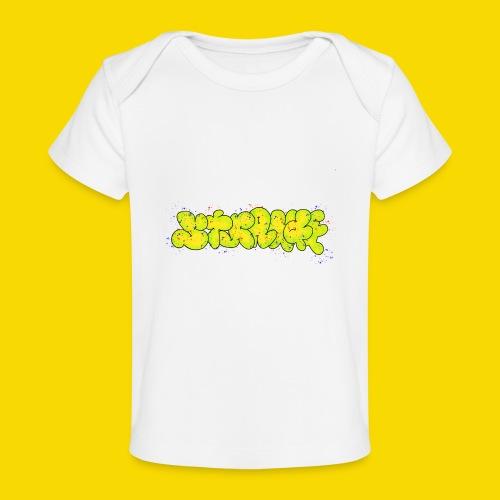 Strange Graffiti - Ekologiczna koszulka dla niemowląt