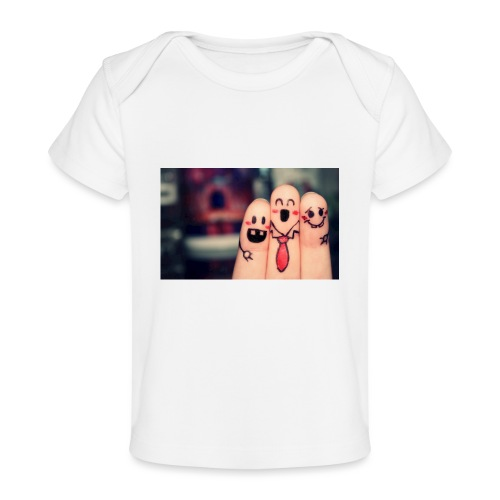 słodkie palce - Ekologiczna koszulka dla niemowląt