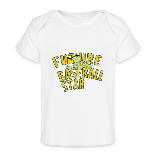 Future Baseball Star - Baby Bio-T-Shirt