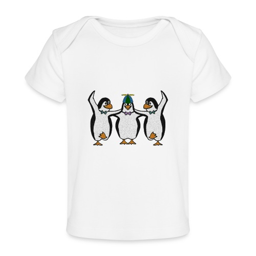 Penguin Trio - Organic Baby T-Shirt