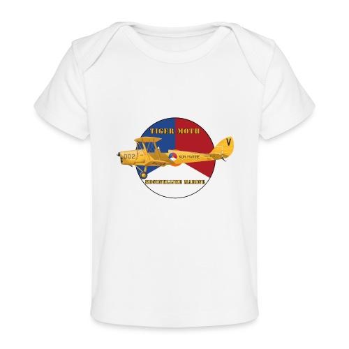 Tiger Moth Kon Marine - Organic Baby T-Shirt