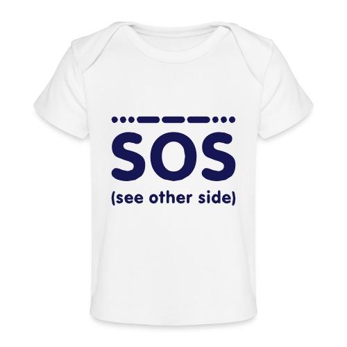 SOS - Baby bio-T-shirt