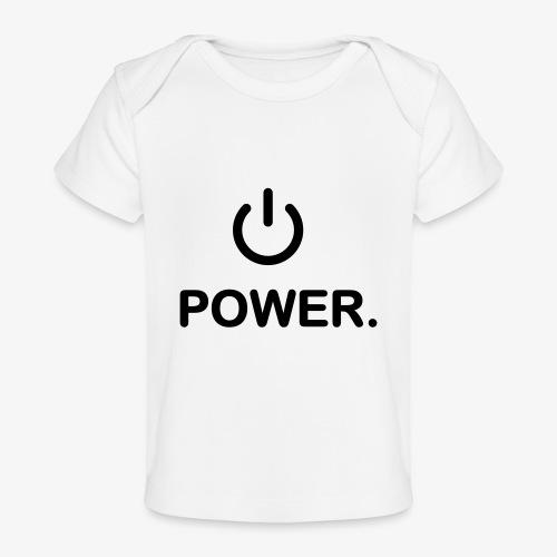 power - T-shirt bio Bébé