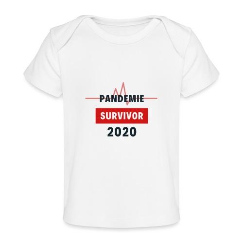 Pandemie Survivor - Baby Bio-T-Shirt