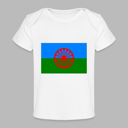 Flag of the Romani people - Ekologisk T-shirt baby