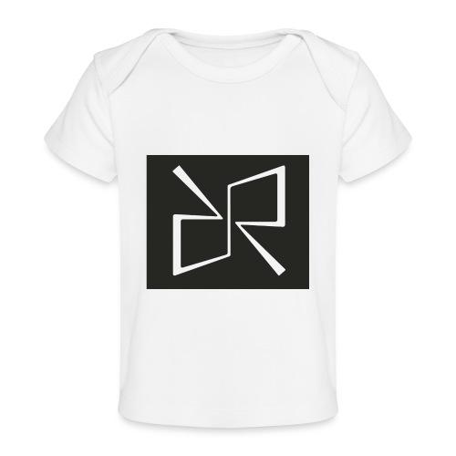 Rymdreglage logotype (RR) - Organic Baby T-Shirt