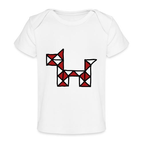 Dog pet twist puzzle toy best friend - Organic Baby T-Shirt