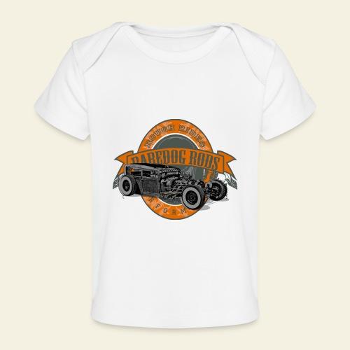Raredog Rods Logo - Økologisk T-shirt til baby