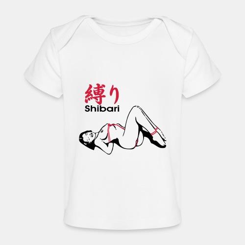 bound Shibari 2col - Baby Bio-T-Shirt