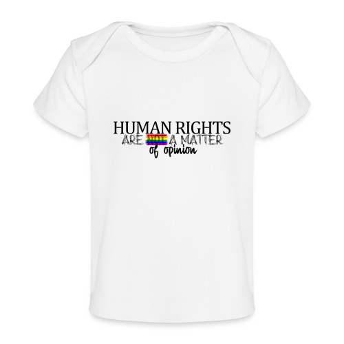 Huma rights - Camiseta orgánica para bebé