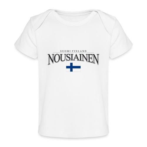 Suomipaita - Nousiainen Suomi Finland - Vauvojen luomu-t-paita