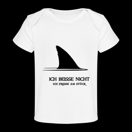 ~ ICH BEISSE NICHT ~ - Baby Bio-T-Shirt