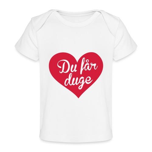Ekte kjærlighet - Det norske plagg - Økologisk baby-T-skjorte