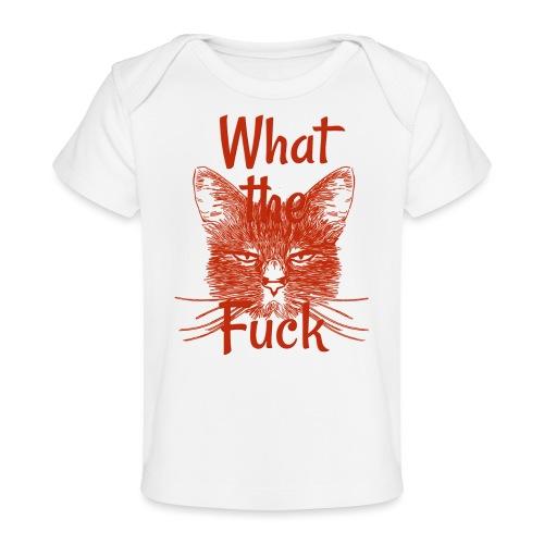 Katze mürrisch - Baby Bio-T-Shirt