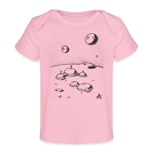 Moonbase Sketch ligne - T-shirt bio Bébé
