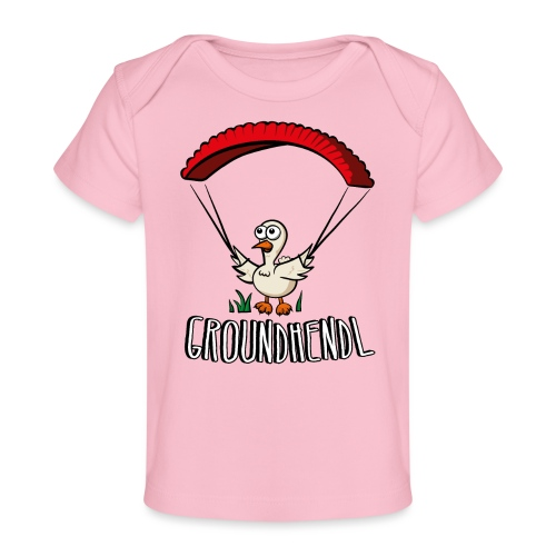 Groundhendl Paragliding Huhn - Baby Bio-T-Shirt