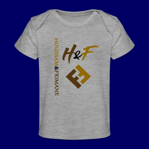 h&F luxury style - Maglietta ecologica per neonato