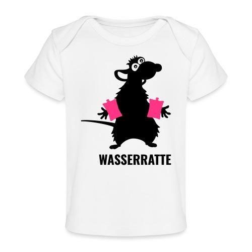 Wasserratte - Baby Bio-T-Shirt