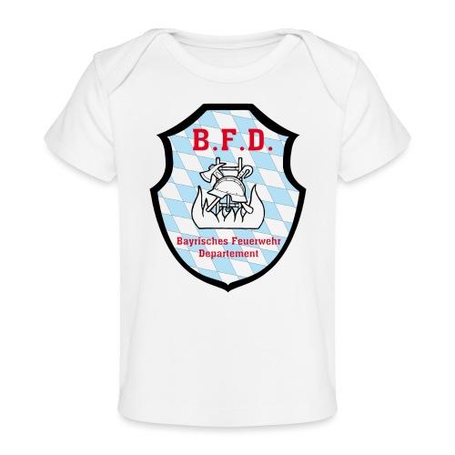Inoffizielles bayrisches Feuerwehrabzeichen - Baby Bio-T-Shirt