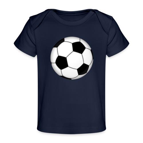 voetbal - Baby bio-T-shirt