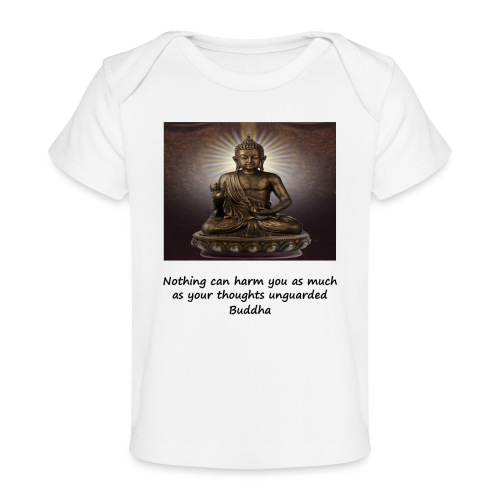 Thoughts Can Harm. - Organic Baby T-Shirt