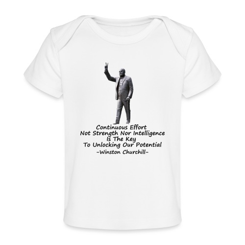 Effort - Organic Baby T-Shirt