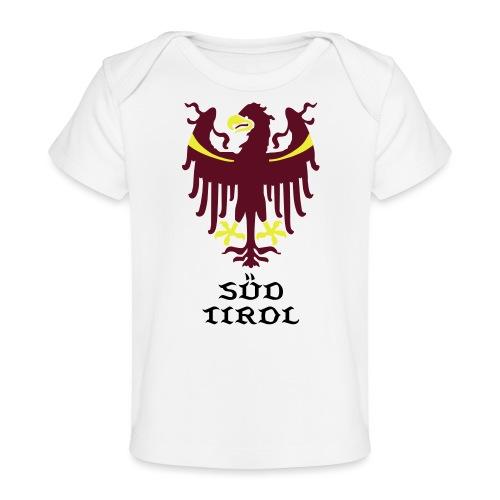 Wappen des Landes Südtirol - Baby Bio-T-Shirt
