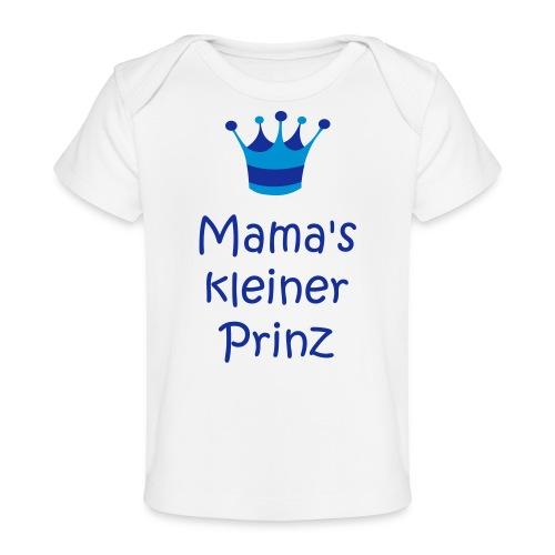 Mama's kleiner Prinz - Baby Bio-T-Shirt
