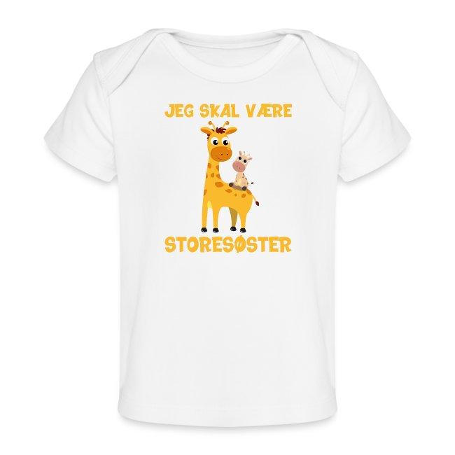 Jeg skal være storesøster - giraf giraffer