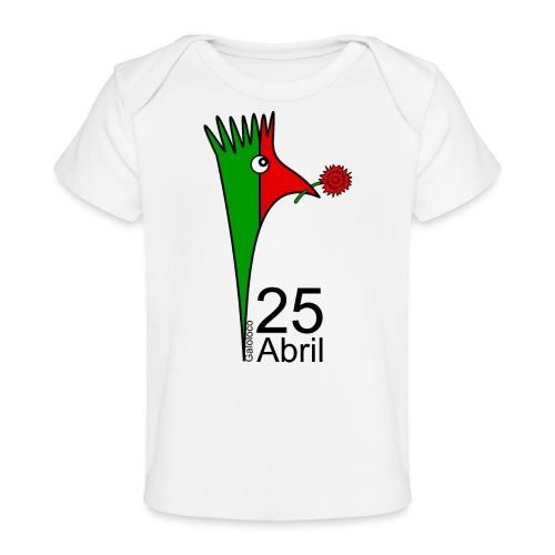 Galoloco - 25 Abril - T-shirt bio Bébé