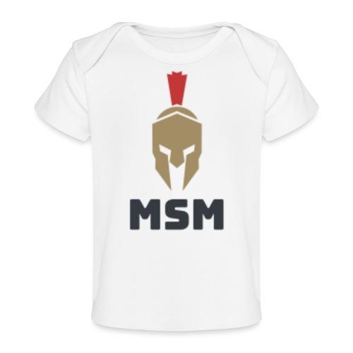 MSM Warrior - Økologisk T-shirt til baby