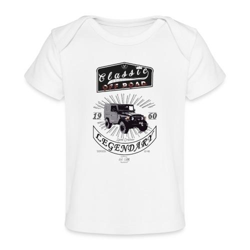 Classics Off Road FJ40 1960 - Camiseta orgánica para bebé